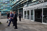 HRH The Prince of Wales visits Kensington Aldridge Academy - Preview Image