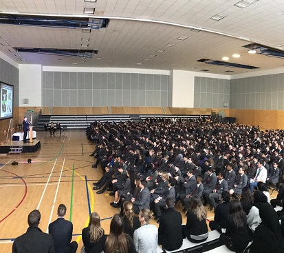 First whole school assembly as a full school - Preview Image