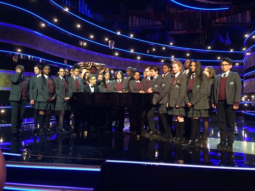 KAA choir open the BAFTAs with Gareth Malone - Preview Image