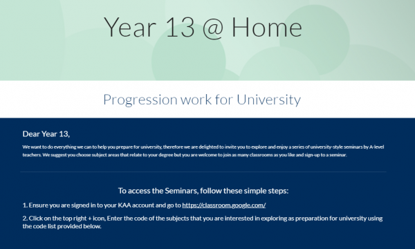Y11 & Y13 Progression work - Preview Image