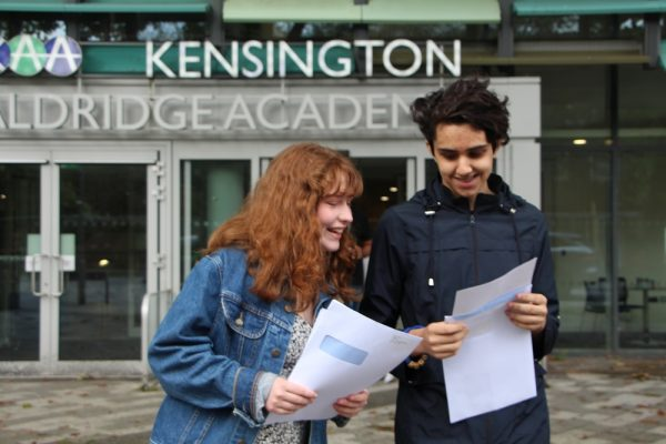 Students and staff celebrate A level results day - Preview Image